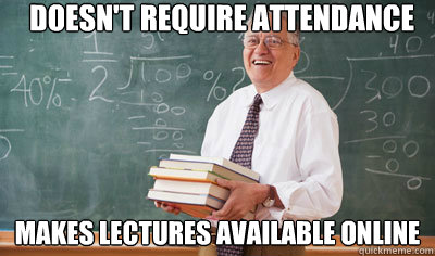 Lectures available online